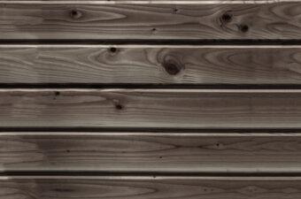 Aging wood cladding