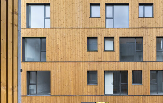 WOOD CLADDING FOR COLLECTIVE HOUSING « LES DOUGLAS REI HABITAT » – LES LILAS (93)