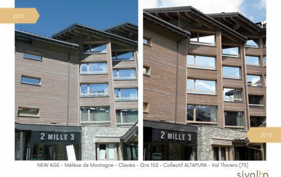 Évolution du Bardage Bois en Mélèze de montagne, avec la solution New Age