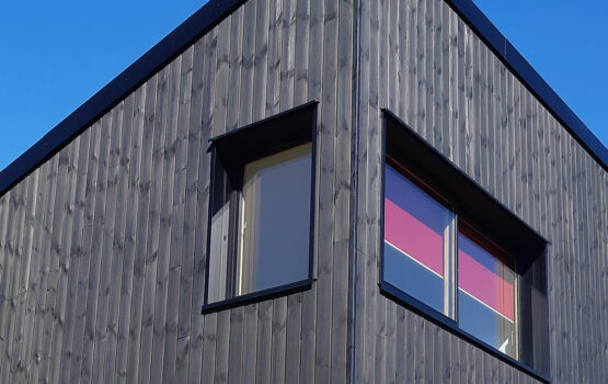 EcoThermo Nordic Pine wood cladding