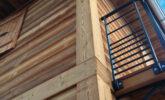 Maison bardage bois en Mélèze de Sibérie EcoThermo Extérieur