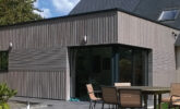 Maison bardage bois en Douglas