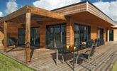Maison bardage bois en Mélèze de Sibérie